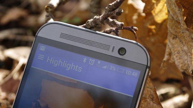 HTC One M8 фронтальная камера