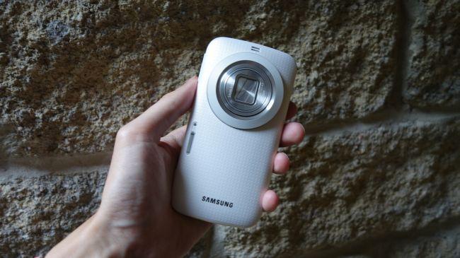 Samsung galaxy K Zoom обзор камеры